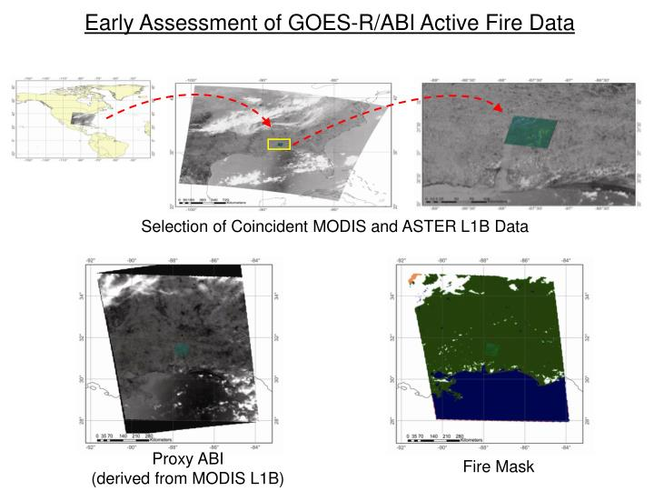 Early Assessment of GOES-R/ABI Active Fire Data