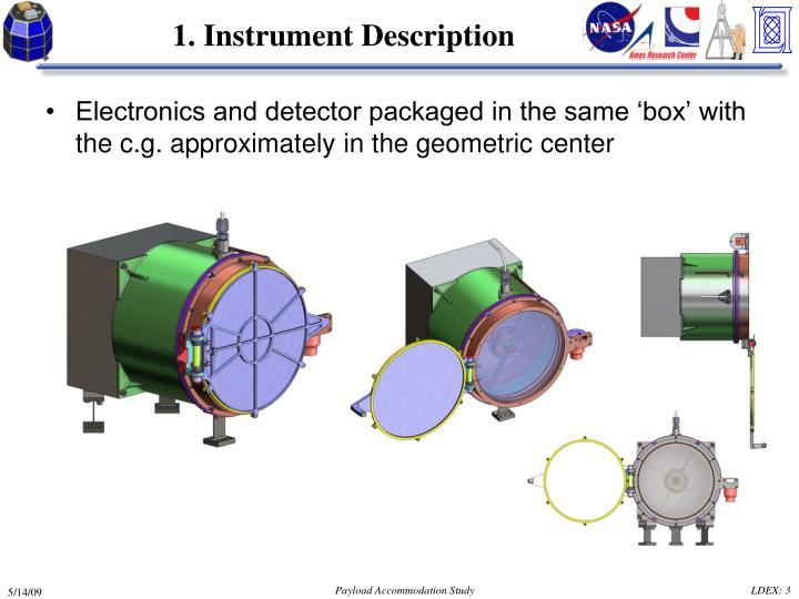 1. Instrument Description
