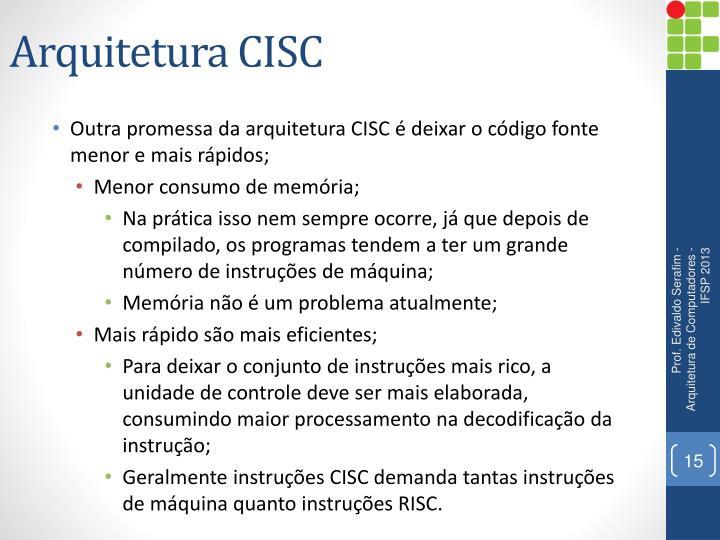 Arquitetura CISC
