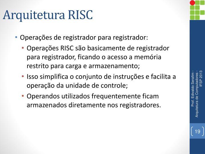 Arquitetura RISC