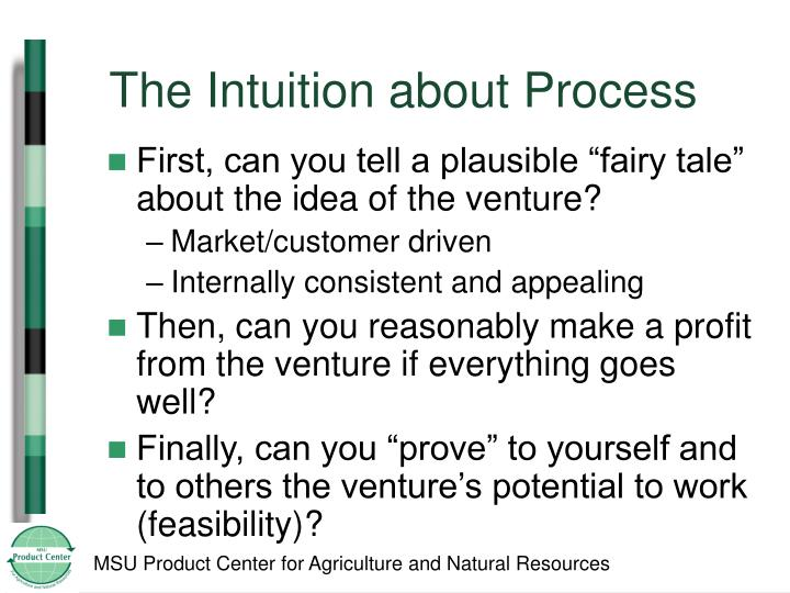 The Intuition about Process