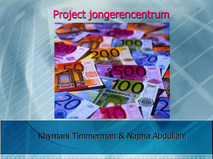 Project jongerencentrum