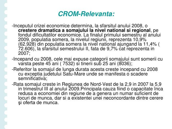 CROM-Relevanta: