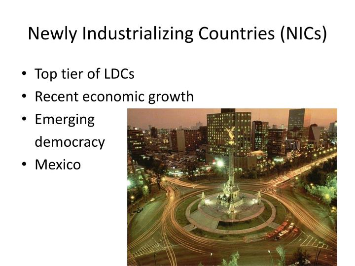 Newly Industrializing Countries (NICs)