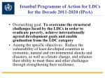 istanbul programme of action for ldcs for the decade 2011 2020 ipoa