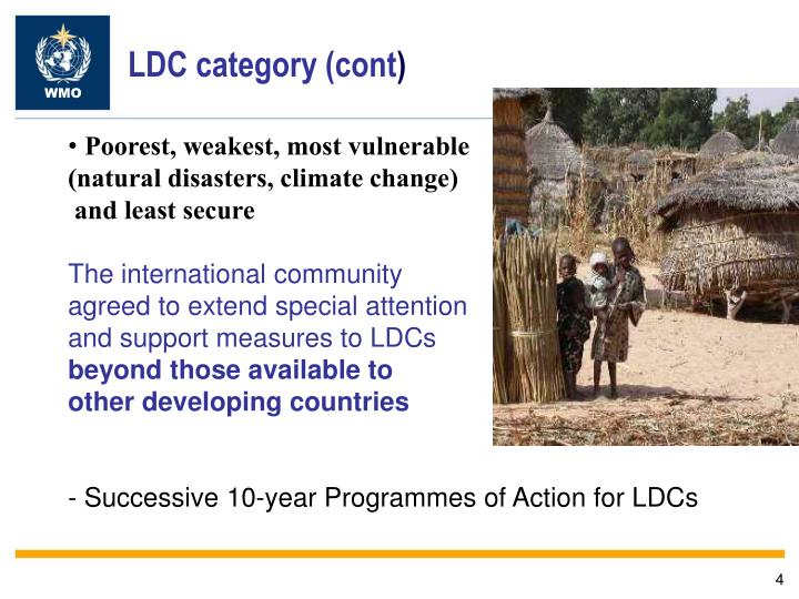 LDC category (cont