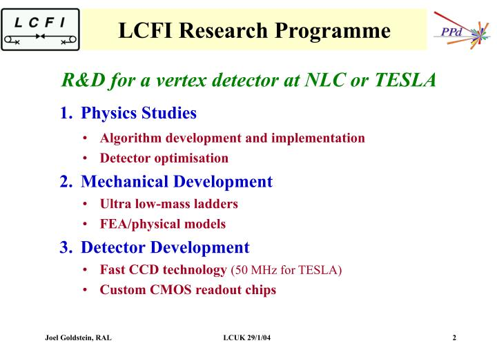 R&D for a vertex detector at NLC or TESLA