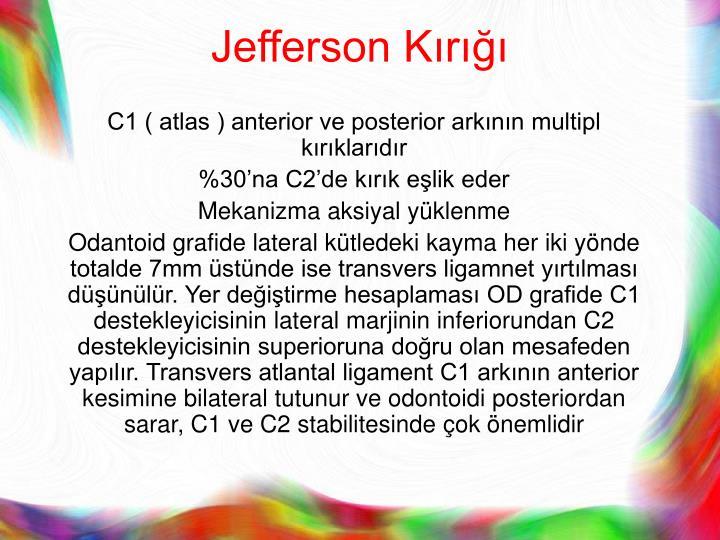Jefferson Kırığı