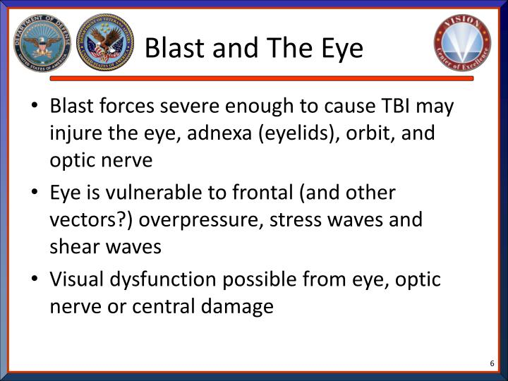 Blast and The Eye