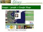 frappr people google maps