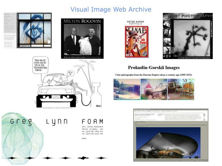 Visual Image Web Archive