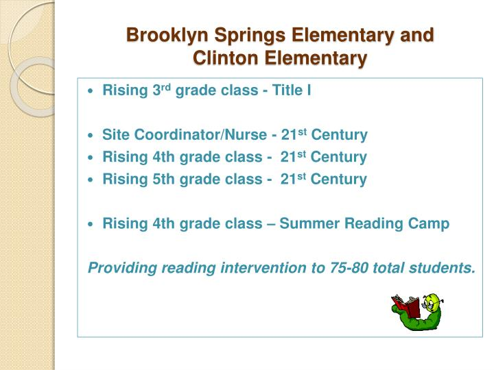 Brooklyn Springs Elementary and