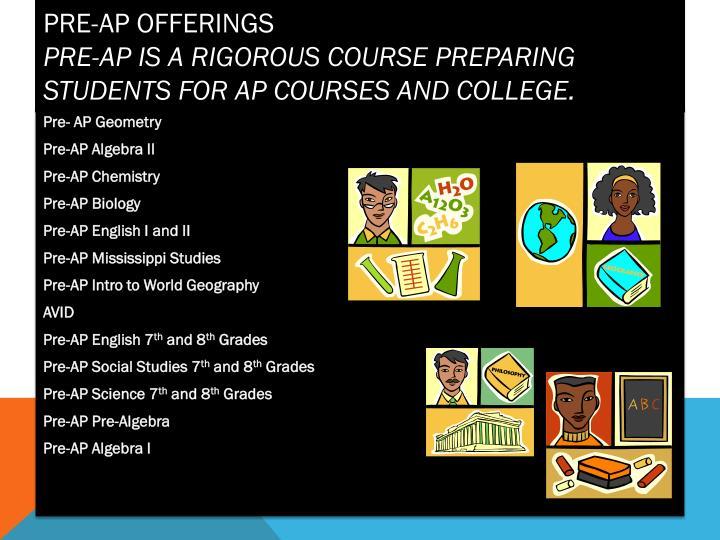 Pre-AP Offerings