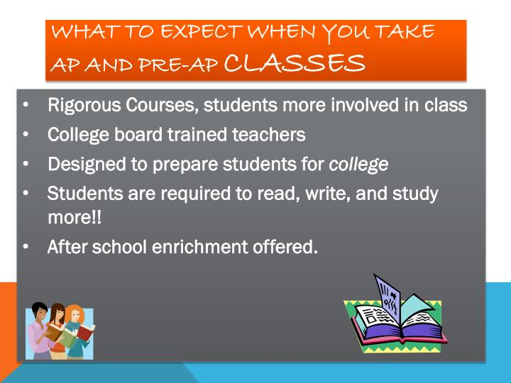 What to expect when you take AP and Pre-AP