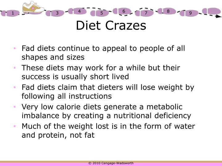 Diet Crazes