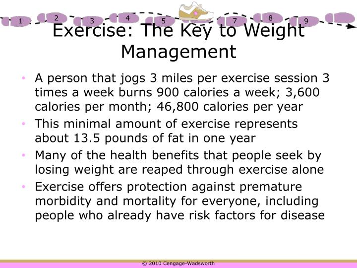 Exercise: The Key to Weight Management