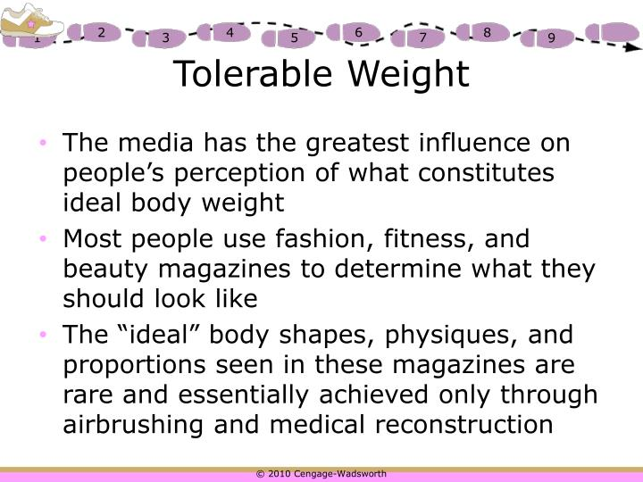 Tolerable Weight