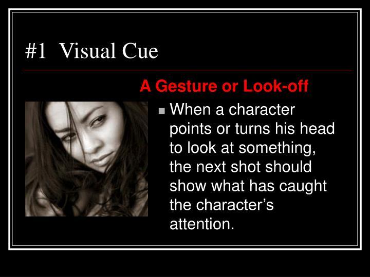 #1  Visual Cue