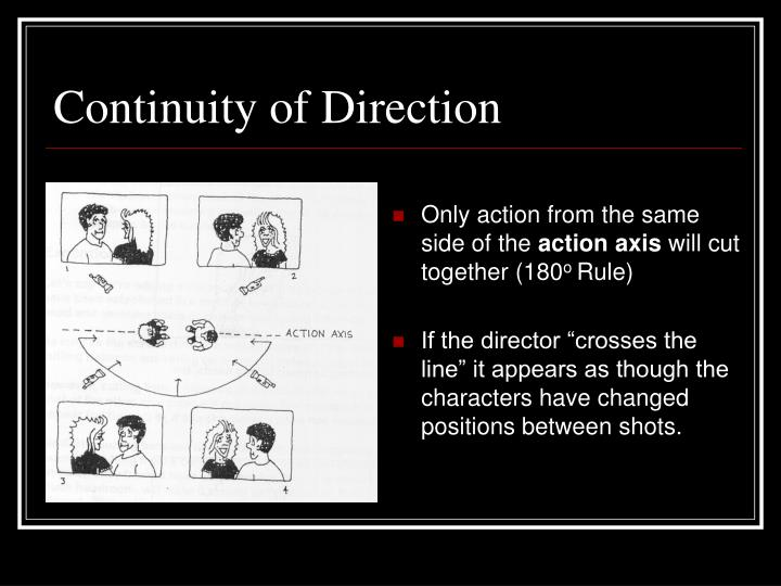 Continuity of Direction
