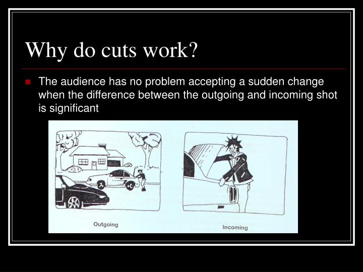 Why do cuts work?