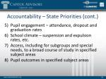 accountability state priorities cont