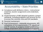 accountability state priorities