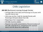 cabs legislation