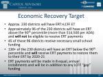 economic recovery target1
