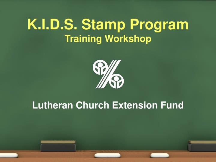 K i d s stamp program training workshop