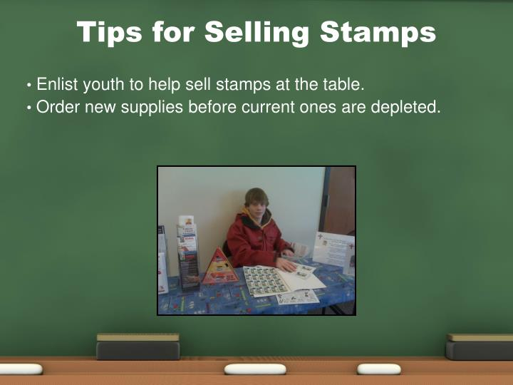 Tips for Selling Stamps
