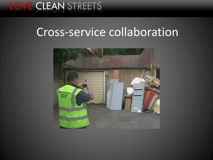 Cross-service collaboration
