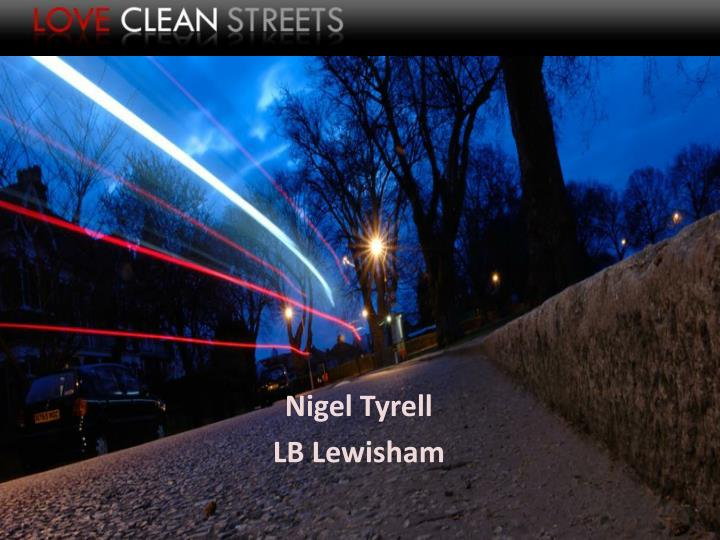 Nigel Tyrell