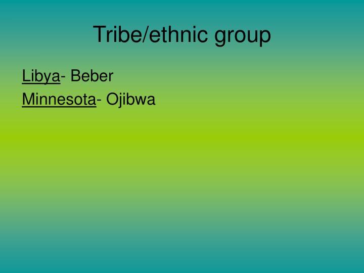 Tribe/ethnic group