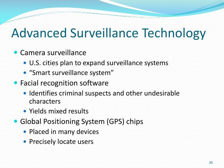 Advanced Surveillance Technology