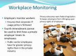 workplace monitoring