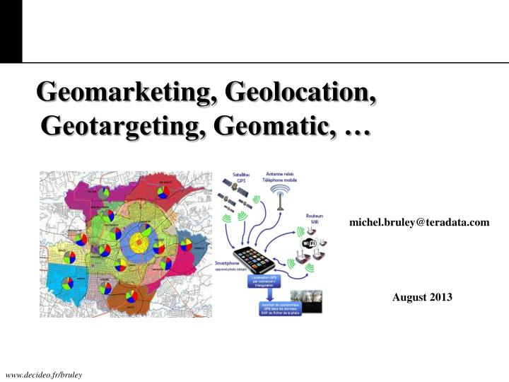 Geomarketing, Geolocation,