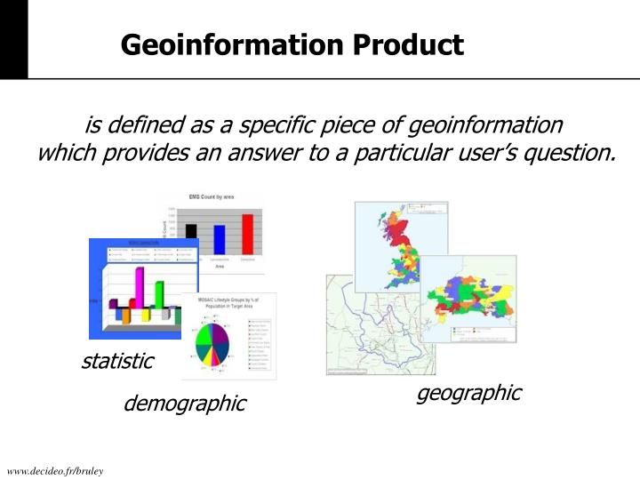 Geoinformation Product