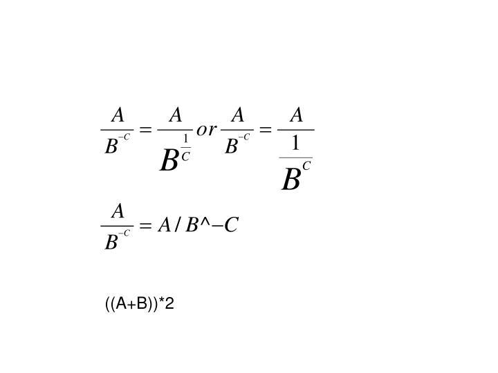 ((A+B))*2