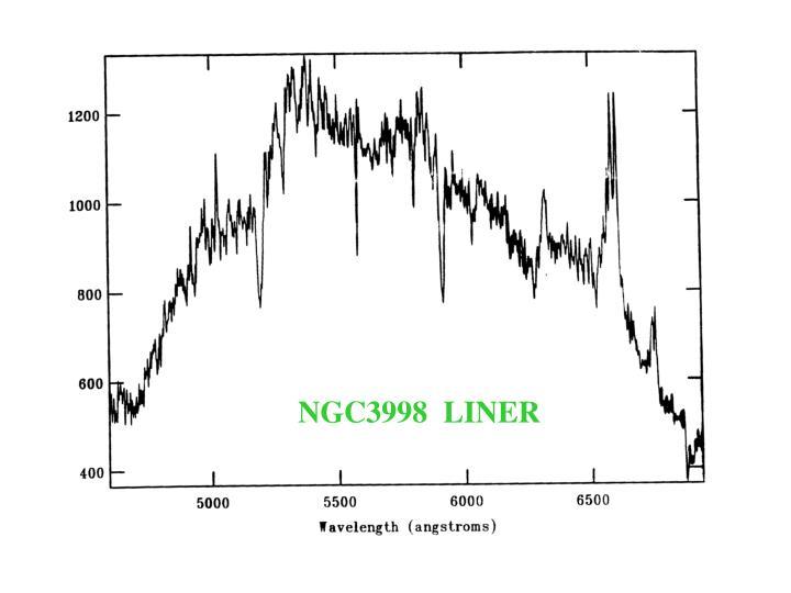 NGC3998  LINER
