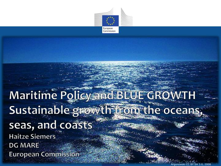 Maritime Policy and BLUE