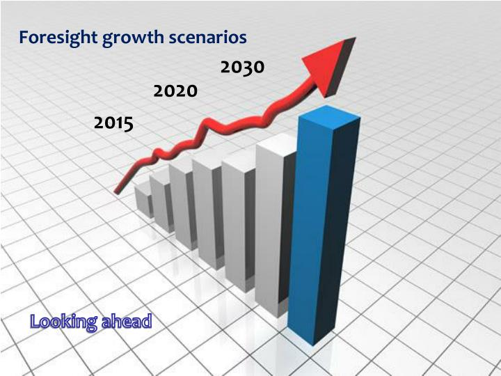Foresight growth scenarios