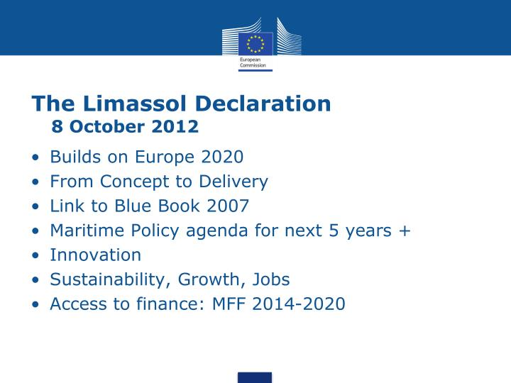 The Limassol Declaration