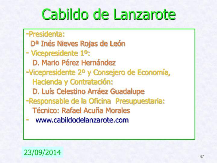 Cabildo de Lanzarote
