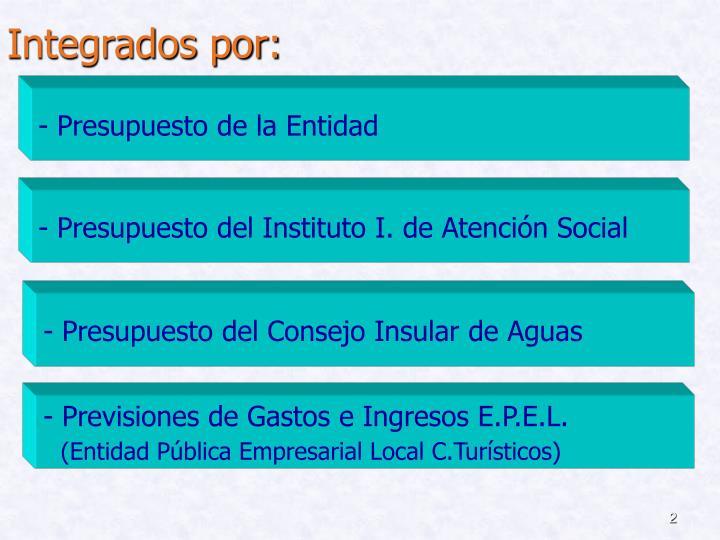 Integrados por: