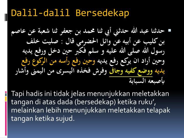 Dalil-dalil