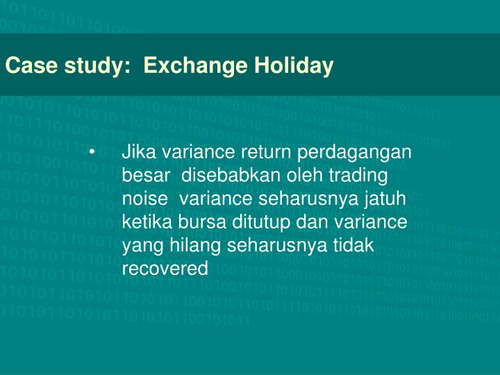 case study equal exchange Equal exchange case study: introduction, overview of competitive advantage, problems, weaknesses and threats (download.