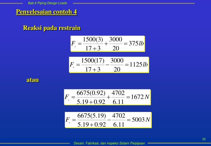 Penyelesaian contoh 4