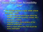 publish your own accessibility zine1
