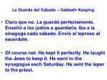 la guarda del s bado sabbath keeping13