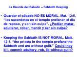 la guarda del s bado sabbath keeping22